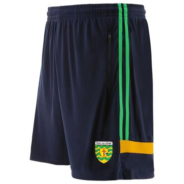 O'Neills Kids Donegal GAA Portland 49 Poly Shorts - Navy