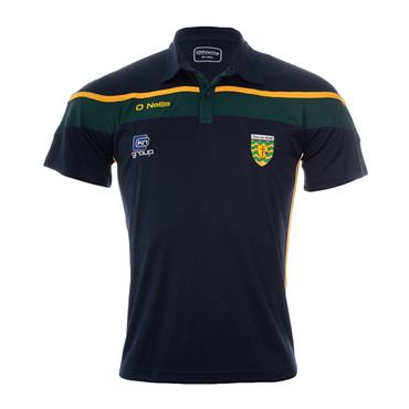 O'Neills Adults Donegal GAA Slaney 05 Polo Shirt - Green/Amber