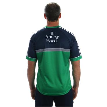 KIDS DONEGAL TRAINING JERSEY 2018 - GREEN/NAVY