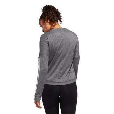 Adidas Womens Response Long Sleeve Sweatshirt - Grey