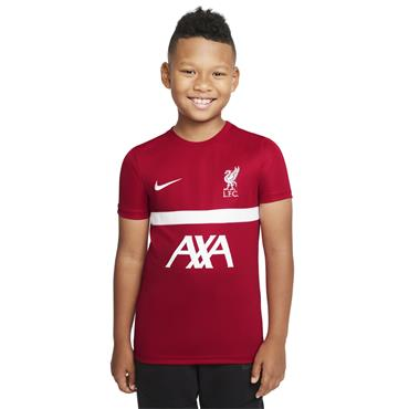 KIDS NIKE LIVERPOOL F.C ACADEMY PRO TOP - Red