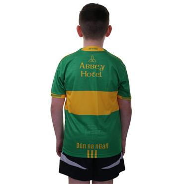 O'Neills Kids Donegal GAA Away Jersey 2018 - Green/Yellow