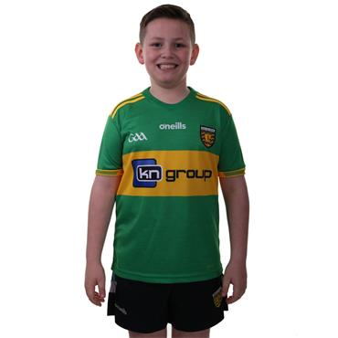 KIDS DONEGAL GAA AWAY JERSEY 2018 - GREEN/YELLOW