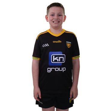 O'Neills Kids Donegal GAA Goalkeeper Jersey 2018 - Black/Yellow