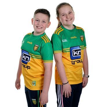 O'Neills Kids Donegal GAA Home Jersey 19/20 - Yellow/Green