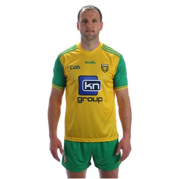 ADULTS DONEGAL GAA HOME JERSEY 2018 - YELLOW/GREEN