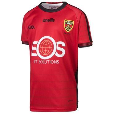 O'Neills Kids Down GAA Home Jersey 19/20 - Red