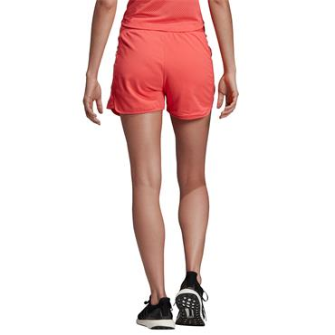 Adidas Womens 3 Stripe Shorts - Pink