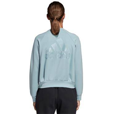Adidas Womens ID Glory Bomber Jacket - MINT