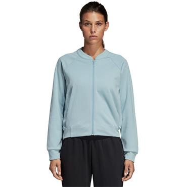 Adidas Womens ID Glory Bomber Jacket - MINT