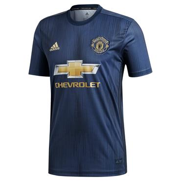 ADULTS MANCHESTER UNITED 3RD JERSEY18/19 - NAVY