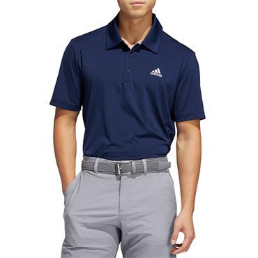 Adidas Mens Golf Poloshirt - Navy
