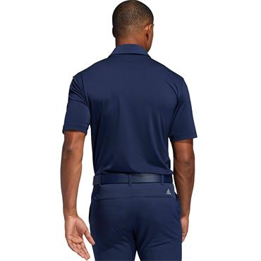 Adidas Mens Ultimate 365 Golf Poloshirt - Blue/Navy