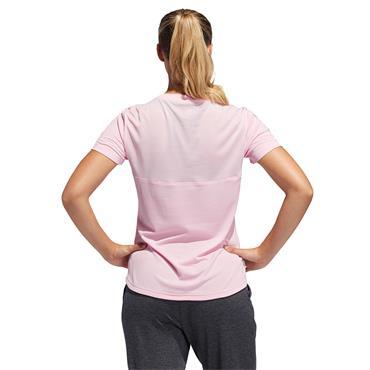 ADIDAS WOMENS OWN THE RUN TSHIRT - PINK