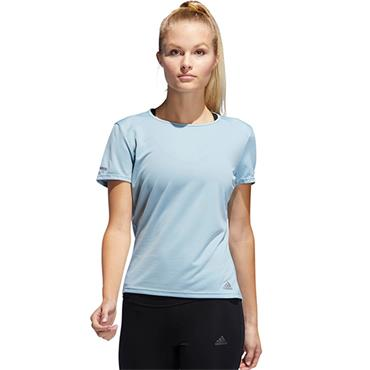 Adidas Womens Run T-Shirt - Blue
