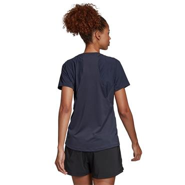 Adidas Womens Training Logo T-Shirt - Navy