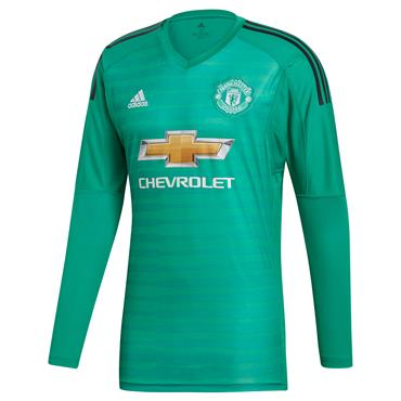 Adidas Adults Manchester United Goalkeeper Jersey 2018/19 - Green