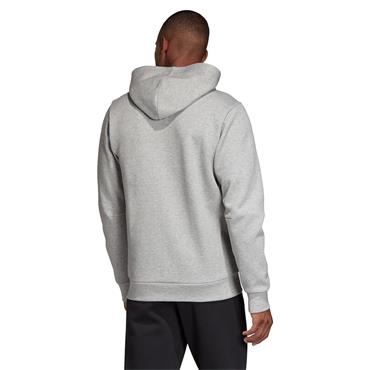 Adidas Mens Must Have Full Zip Hoodie - Grey/Black