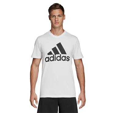 Adidas Mens Must Have Badge of Sport T-Shirt - White