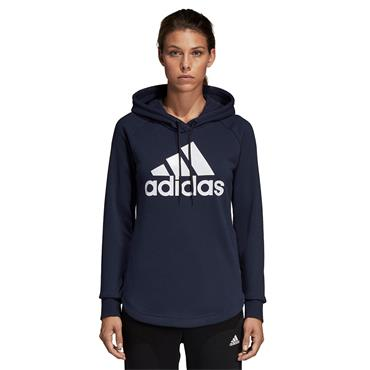 Adidas Womens Must Have Hoodie - Navy/White