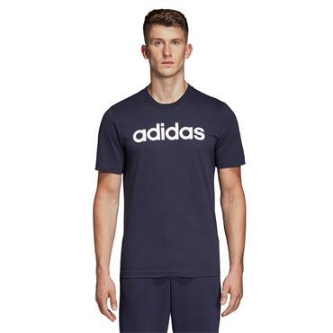 Adidas Mens Linear Logo T-Shirt - Navy