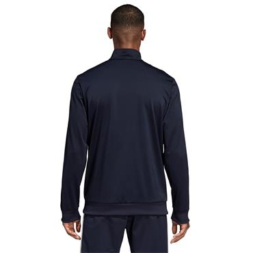 Adidas Mens Essentials 3 Stripes Tricot Track Jacket - Navy/White