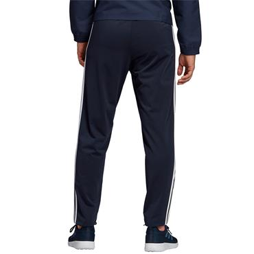 Adidas Mens Essentials 3 Stripes Tapered Pants - Navy/White