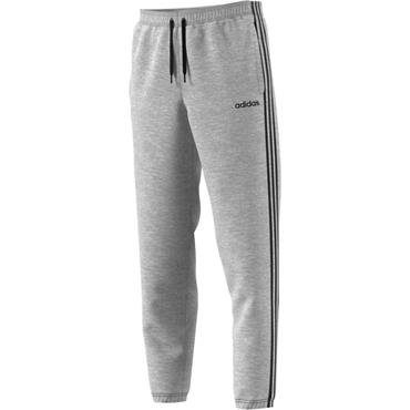 Adidas Mens Essentials 3 Stripe Pants - Grey
