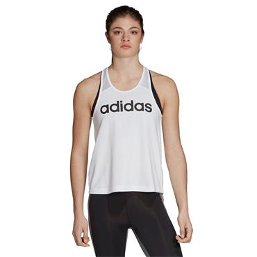 Adidas Womens Logo Tank Top - White