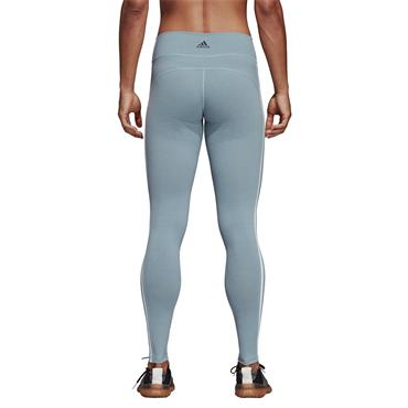 Adidas Womens Believe This 3 Stripes Leggings - MINT