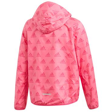 Adidas Girls Wind Jacket - Pink