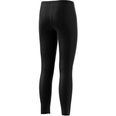 Adidas Girls Linear Leggings - Black/White