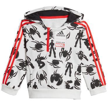 Adidas Boys Spiderman Tracksuit - Red/Black