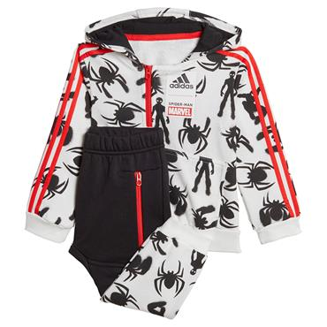 Adidas Boys Spiderman Tracksuit - Red/Black