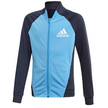Adidas Girls Active Tracksuit - Blue/Navy