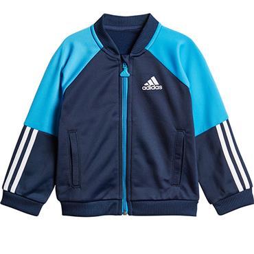Adidas Boys Skiny Tracksuit - Navy