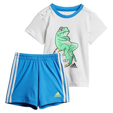 Adidas Boys Animal Set - White/Blue