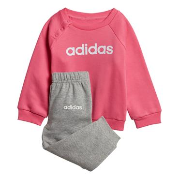 Adidas Girls Fleece Jogger Tracksuit - Pink