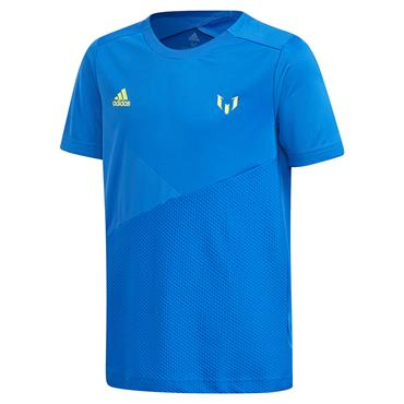 ADIDAS BOYS MESSI TSHIRT - BLUE