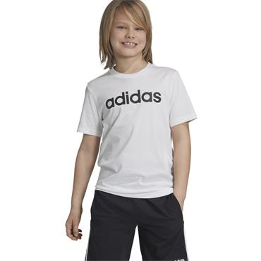 Adidas Kids Essentials Linear Logo T-Shirt - White