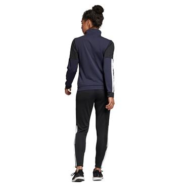 Adidas Womens Team Sports Tracksuit - Navy/Black