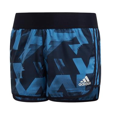 Adidas Girls Training Shorts - Blue/Navy