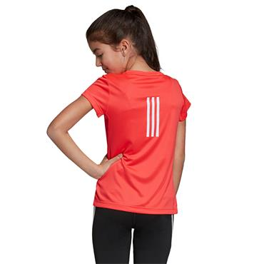 Adidas Girls Training Cool T-Shirt - Pink