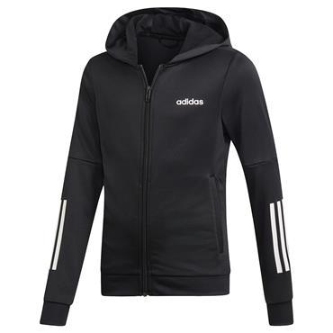 Adidas Kids Linear Logo Hoodie - Black/White