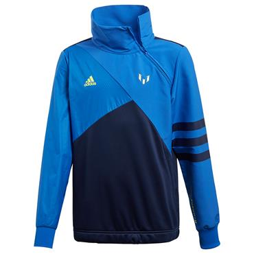 ADIDAS BOYS MESSI FULL ZIP JACKET - BLUE