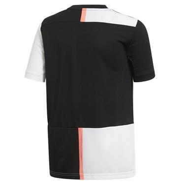 Adidas Kids Juventus Home Jersey 2019/20 - Black/White