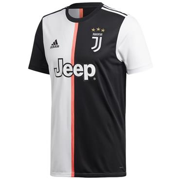 Adidas Adults Juventus Home Jersey 2019/20 - Black/White