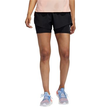 Adidas Womens Adapt to Chaos Shorts - BLACK