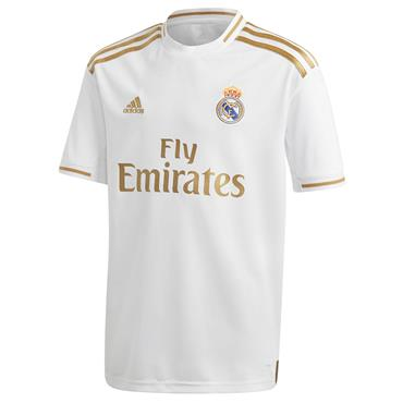 Adidas Kids Real Madrid Home Jersey 2019/20 - White