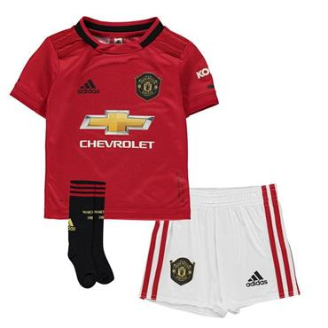 f7282e0d6 Adidas Kids Manchester United Kit 2018 19 - Red ...